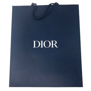 Dior Blue Paper Bag